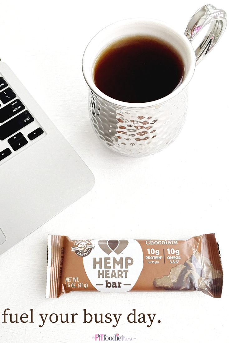 Fuel your busy day with these gluten free Manitoba Harvest Hemp Heart Bars #sweatpink #fuelledbyhemp