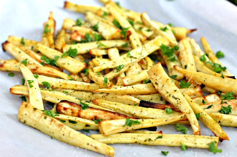 Healthy and easy to make parsnip truffle fries