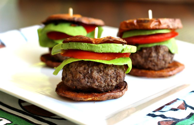 Paleo Sweet Potato Sliders
