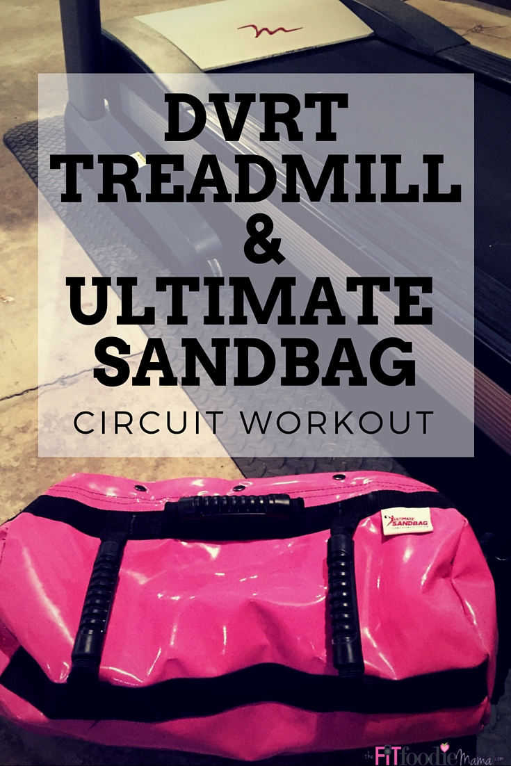 Unilateral DVRT @UltimateSandbag & Treadmill Running and Strength Training Workout for Runners. Find workout details on TheFitFoodieMama.com