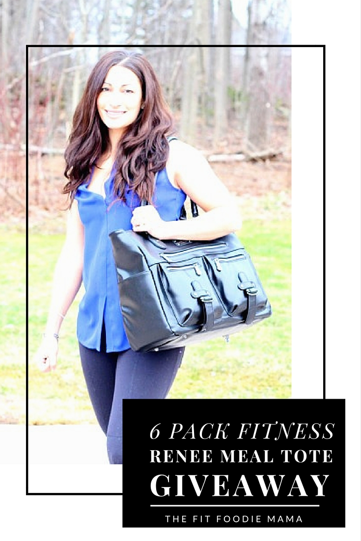 6 Pack Fitness Renee Meal Management Tote Giveaway