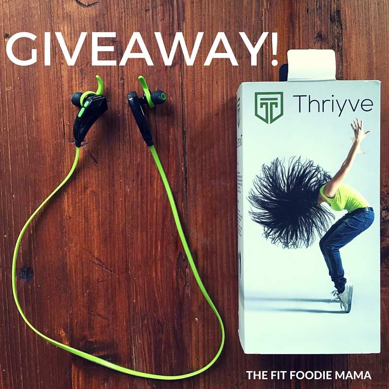 Thryive Bluetooth Sports Earbuds Giveaway