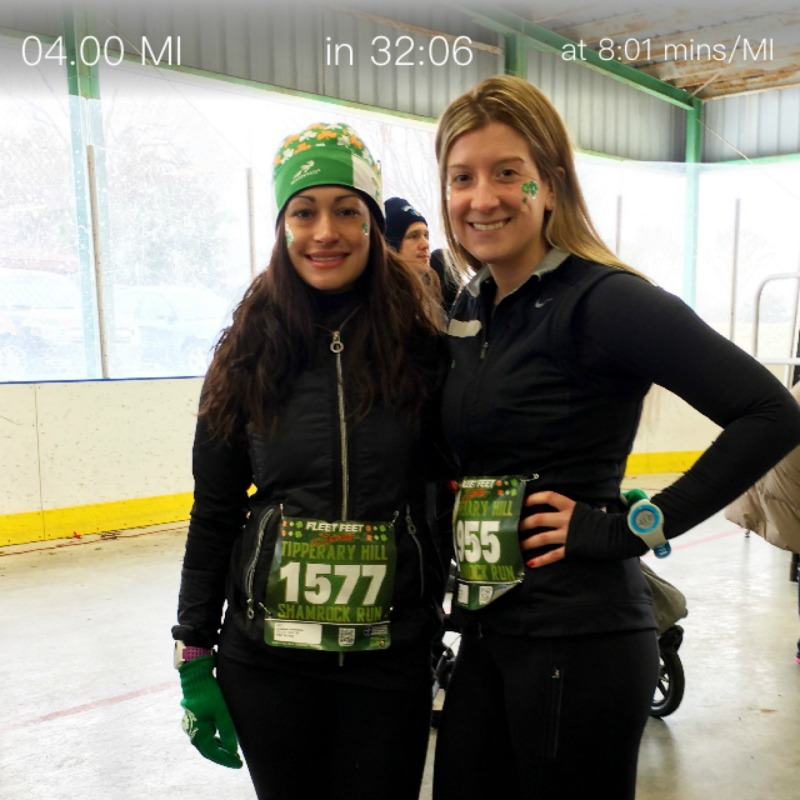 Shamrock run results