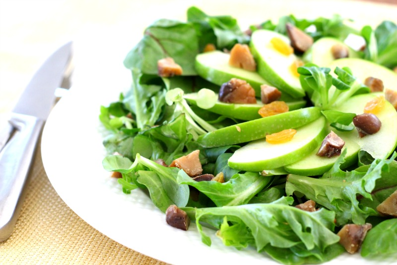 chestnut salad 4