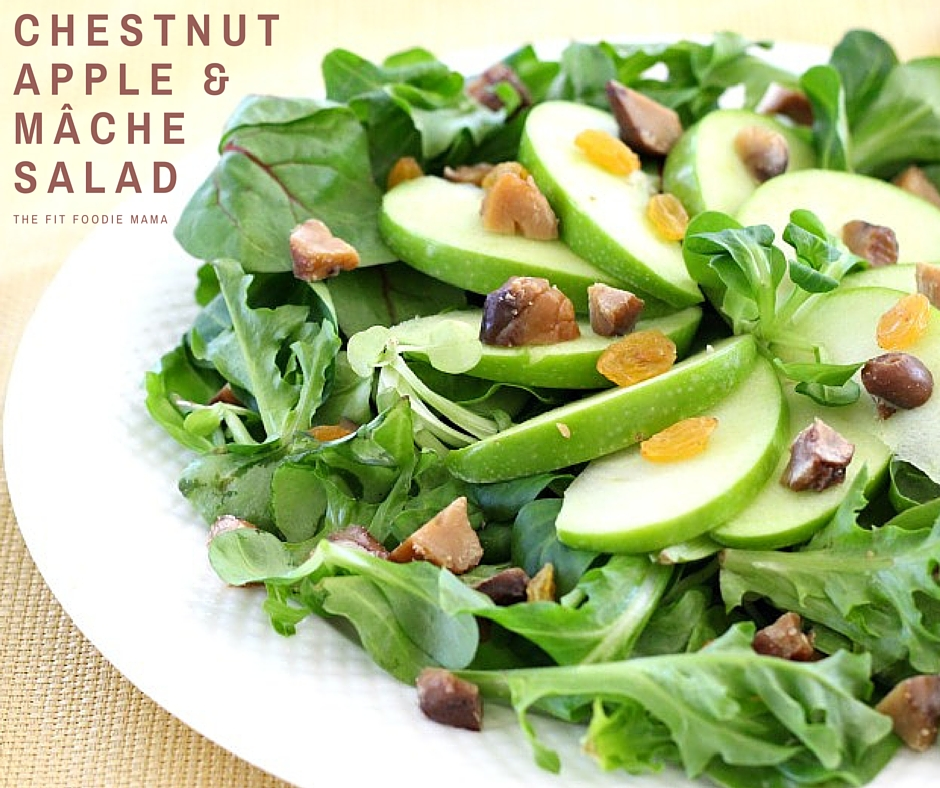 Chestnut, Apple & Mâche Salad