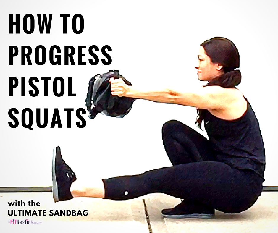 How to Progress the Pistol Squat Using the Ultimate Sandbag