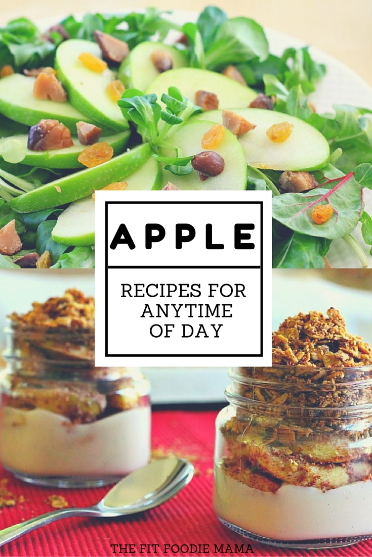 Gluten Free Apple Recipes for Anytime of Day {breakfast, lunch, dinner, dessert} TheFitFoodieMama.com