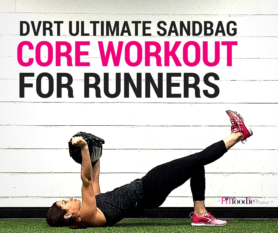 DVRT Ultimate Sandbag Core Workout for Runners
