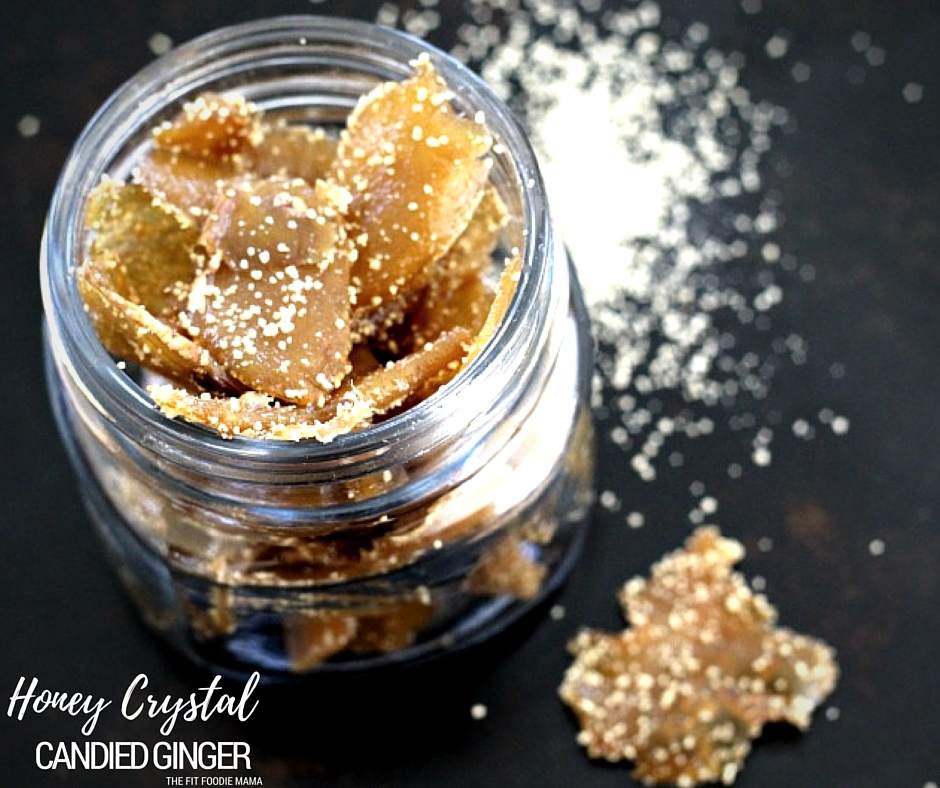 Honey Crystal Candied Ginger Recipe {Paleo}