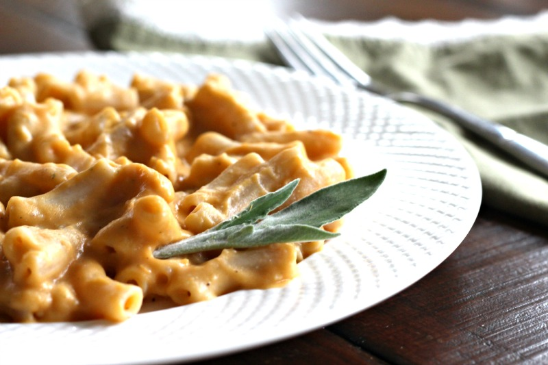 Sweet Potato Pasta {gluten free, vegan}