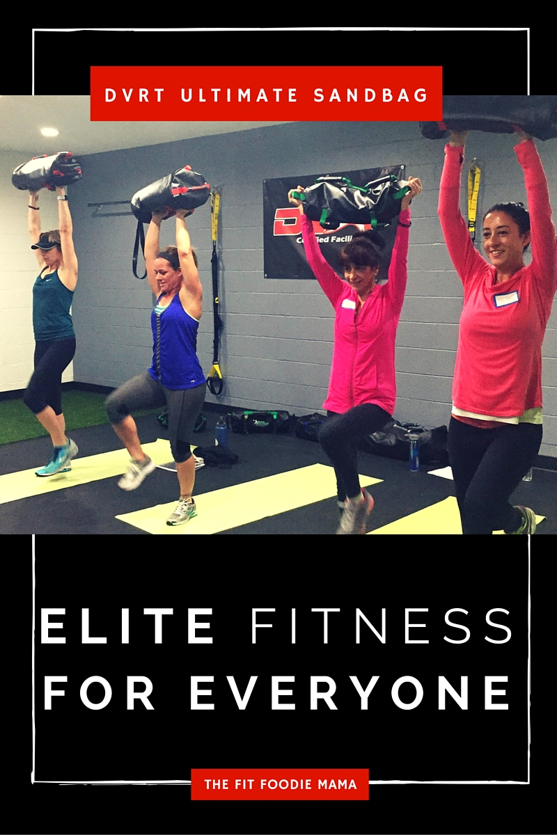 DVRT Ultimate Sandbag - Elite Fitness For Everyone TheFitFoodieMama.com