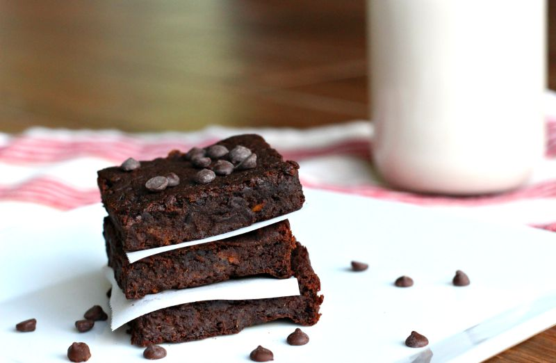 Double Chocolate Protein Brownies