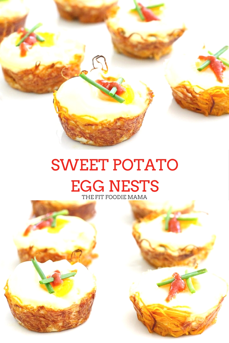 These Sweet Potato Egg Nests are simply delicious, easy to make, paleo and naturally gluten free. They're perfect to bring to a brunch or whip up at the beginning of the week during meal prep so you can have a healthy breakfast on the go! Hop over to TheFitFoodieMama.com to learn the secret on how to make these easy as 1-2-3!