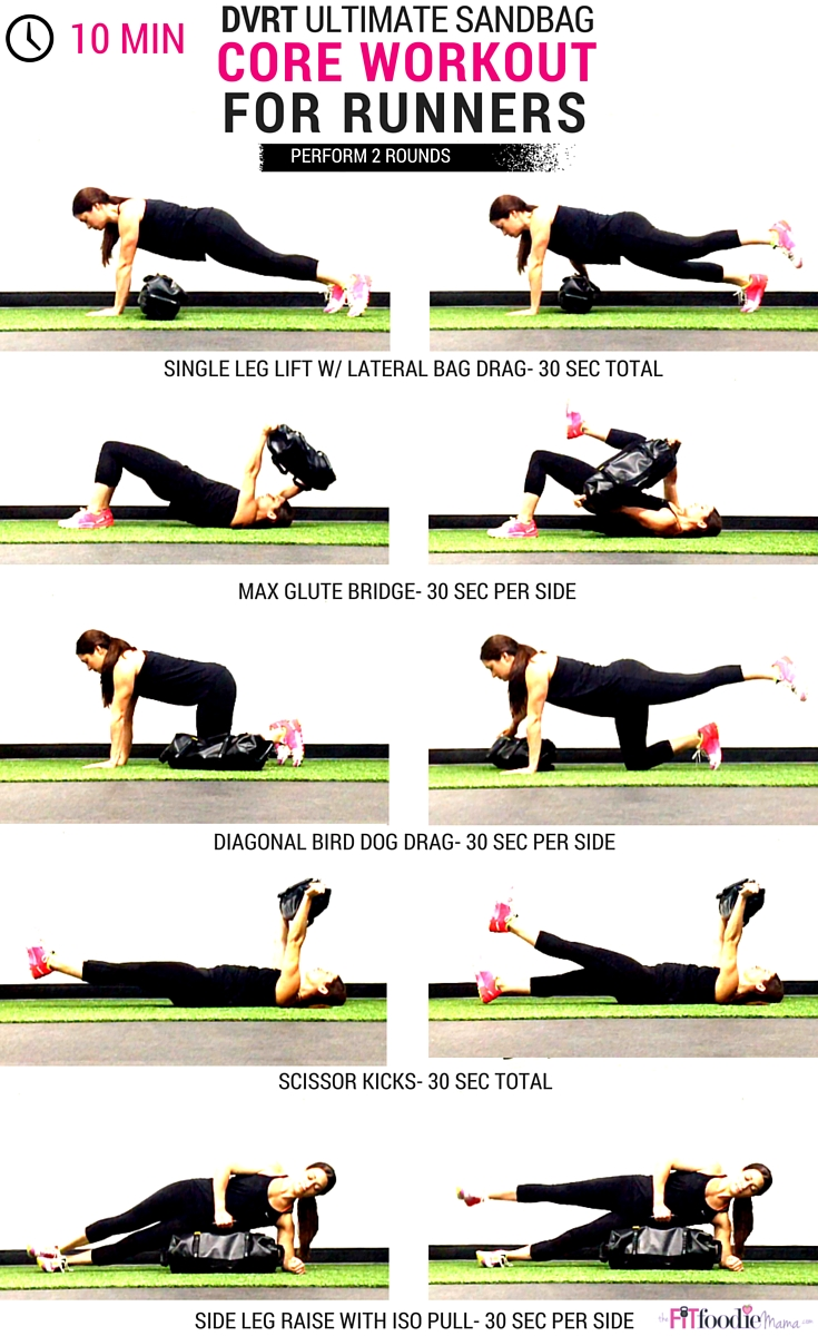 10 Minute Ultimate Sandbag Core Workout For Runners - The ...
