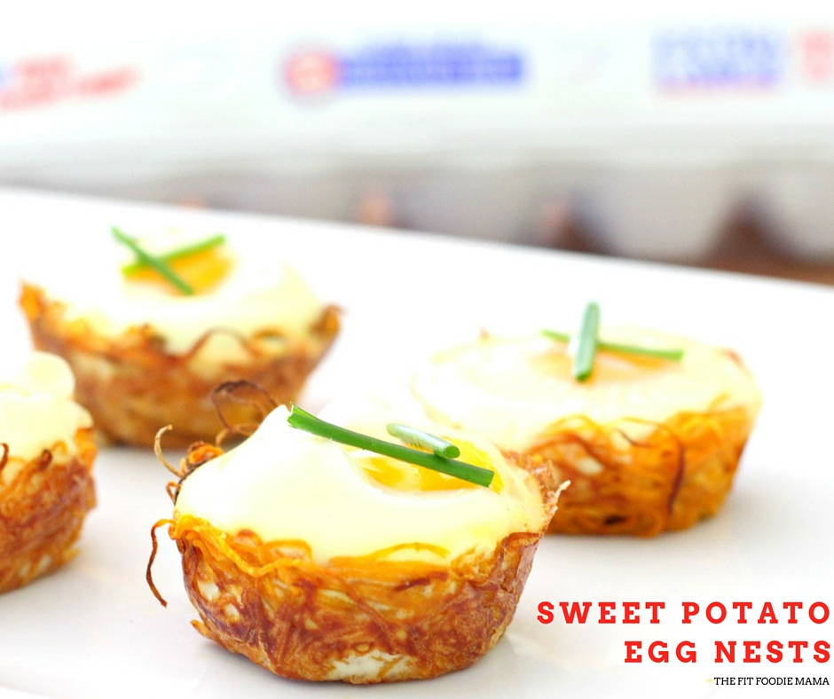 Simply Delicious Sweet Potato Egg Nests