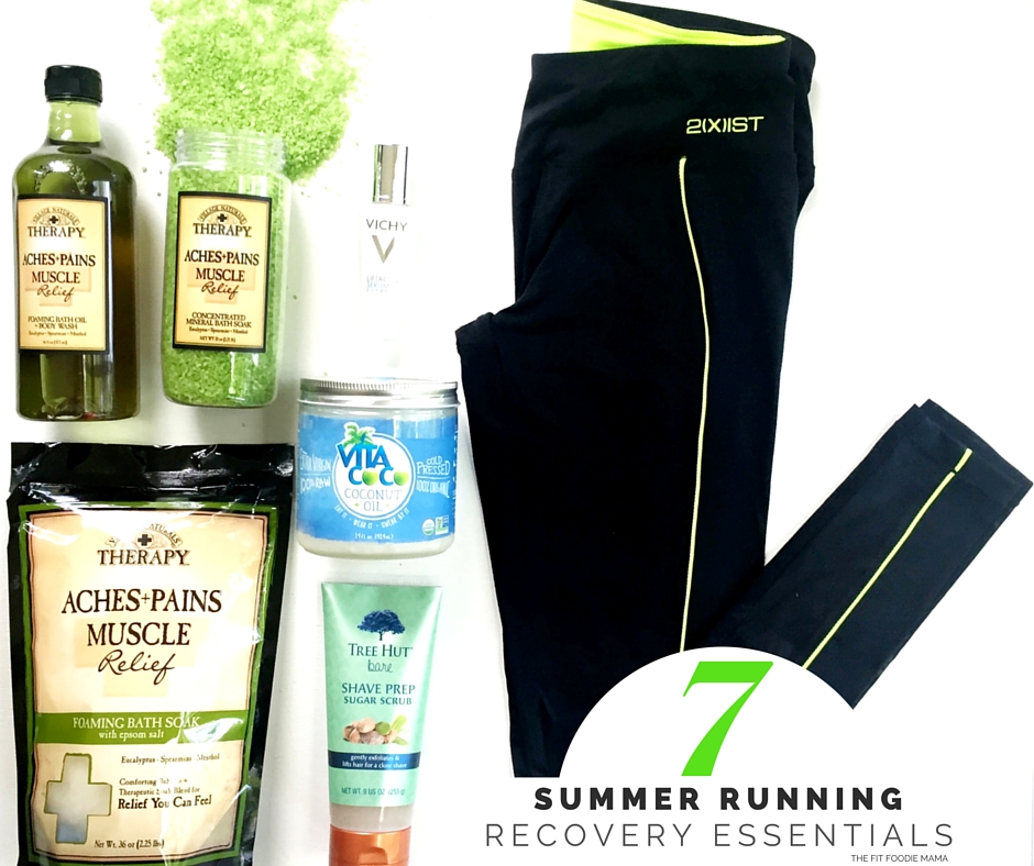 7 Summer Running Recovery Essentials