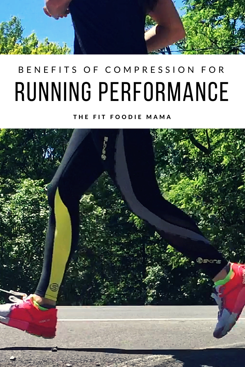 Benefits of Compression for Running Performance. Plus Skinz DNAmic Compression Tights Giveaway! TheFitFoodieMama.com