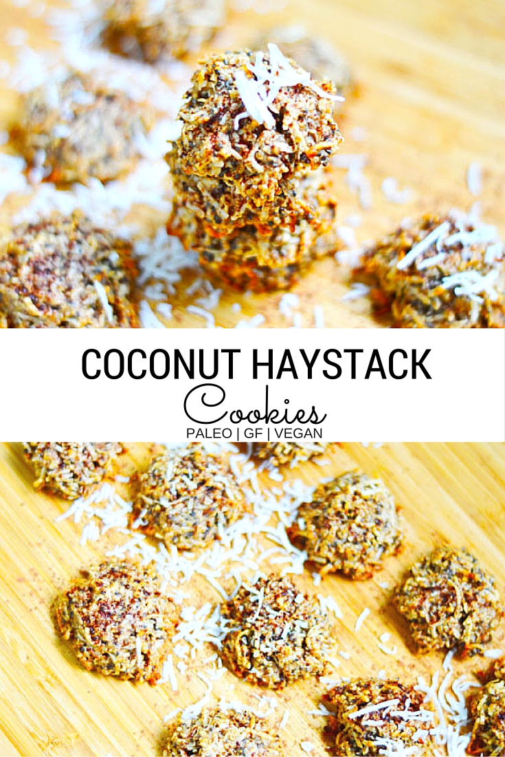 These coconut haystack cookies are the perfect paleo friendly, gluten free dessert for a sweet treat without the guilt via @ranchcookie
