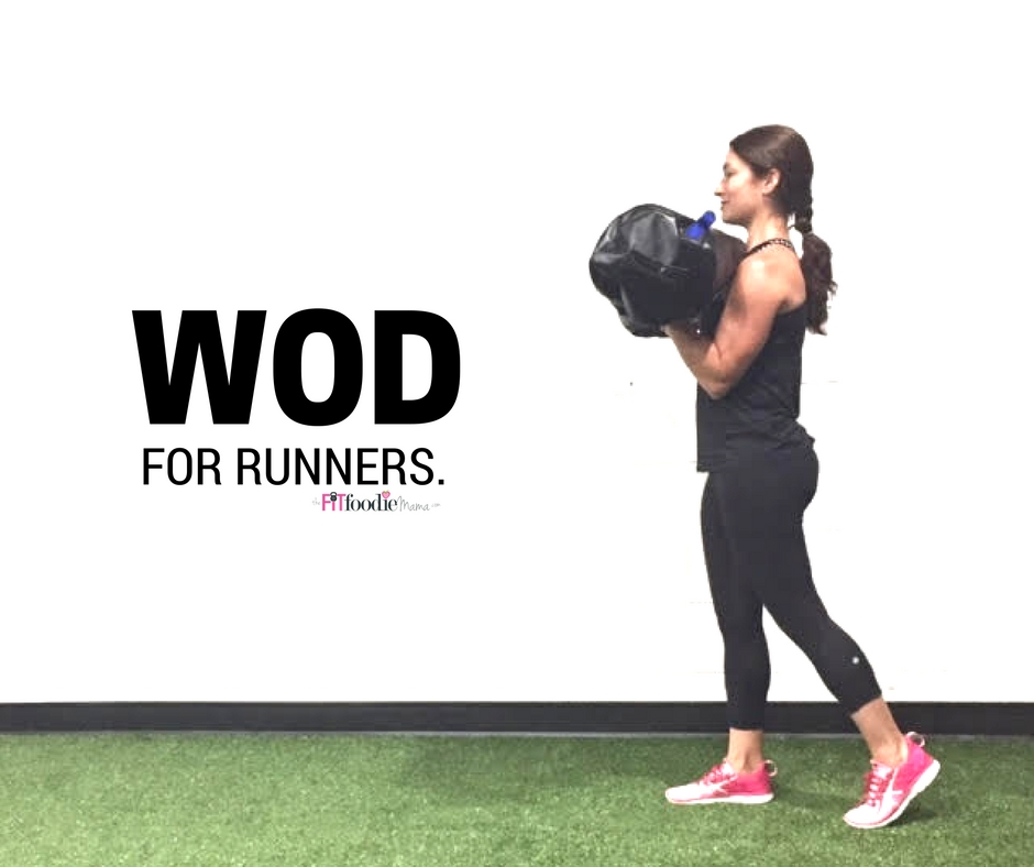 DVRT Ultimate Sandbag WOD for Runners