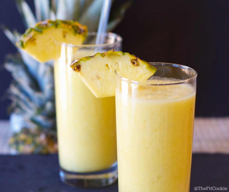Pina Colada Smoothie by The Fit Cookie {Vegan, Gluten Free}