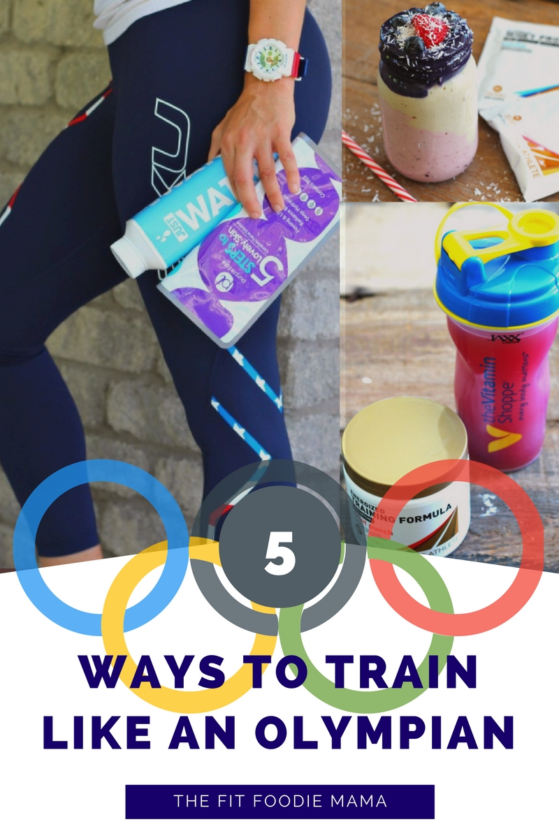 Inspired by the Olympics? Here are 5 ways you can train like an Olympian and go for the gold in your workout routine! #BabbleBoxxGold #ad @vitaminshoppe