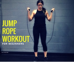 Jump rope exercises and workout for beginners from Crossrope creator Dave Hunt!