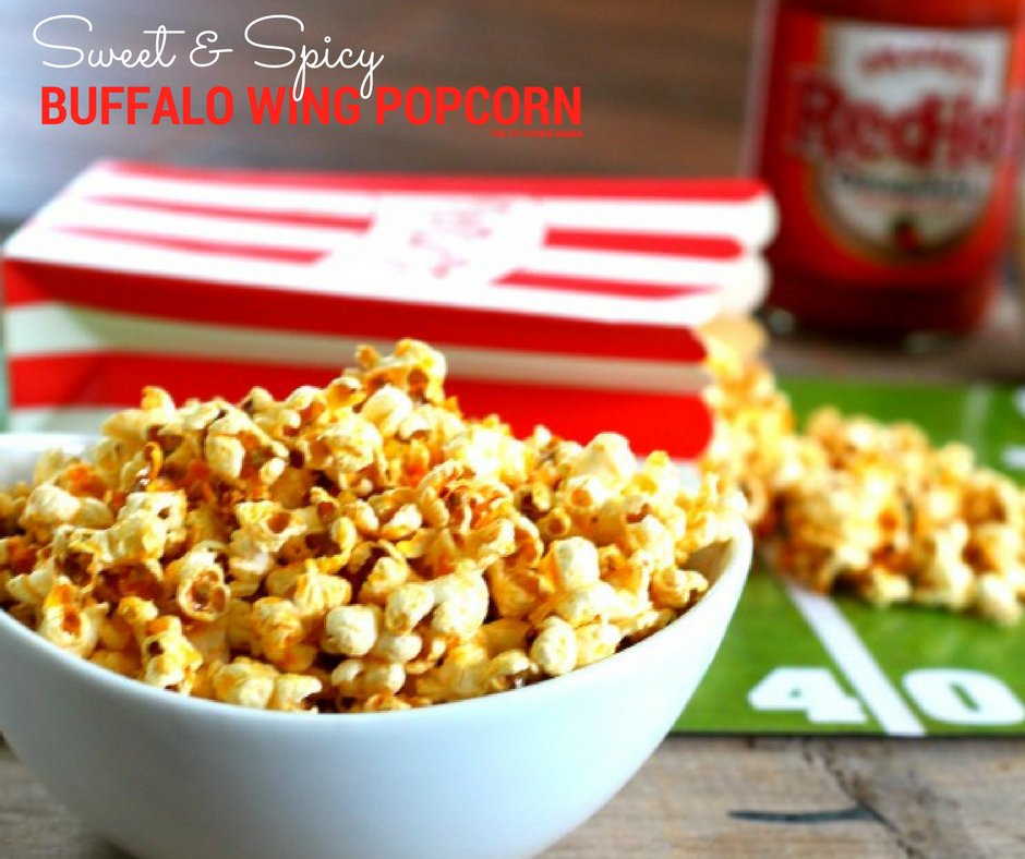 Sweet & Spicy Buffalo Wing Popcorn