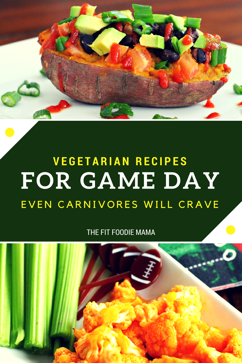 Vegetarian and gluten free recipe for game day that even carnivores will crave!