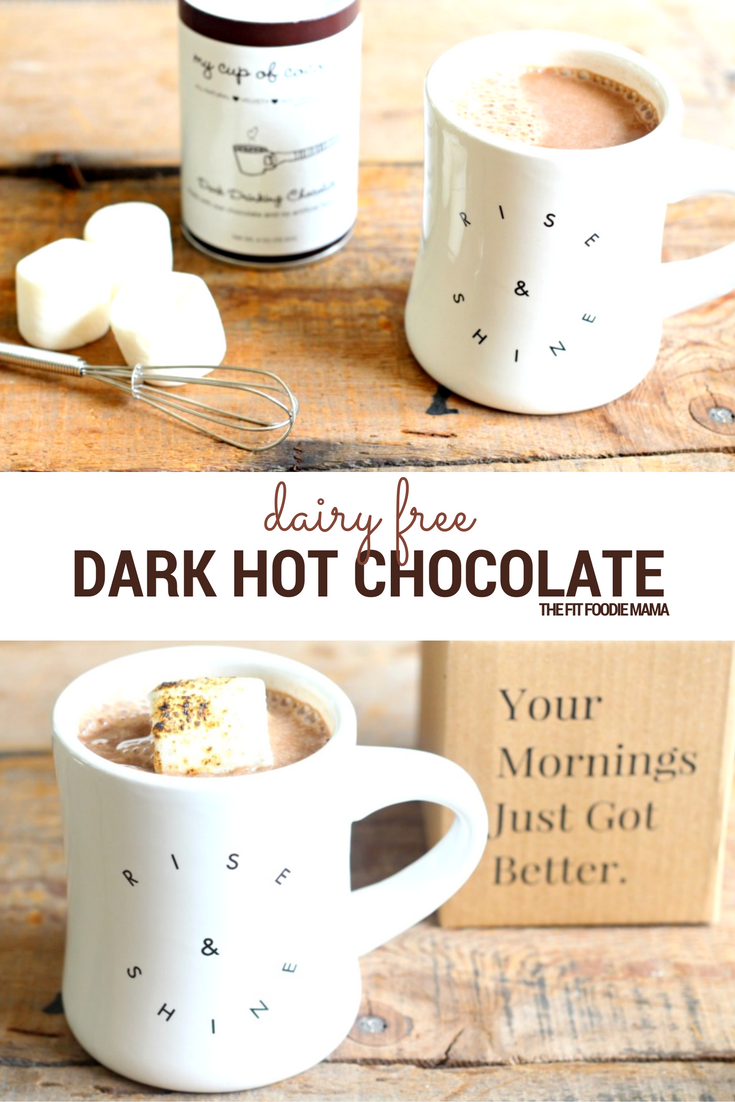 dairy free dark hot chocolate