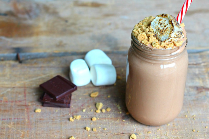 Dairy Free S'mores Smoothie