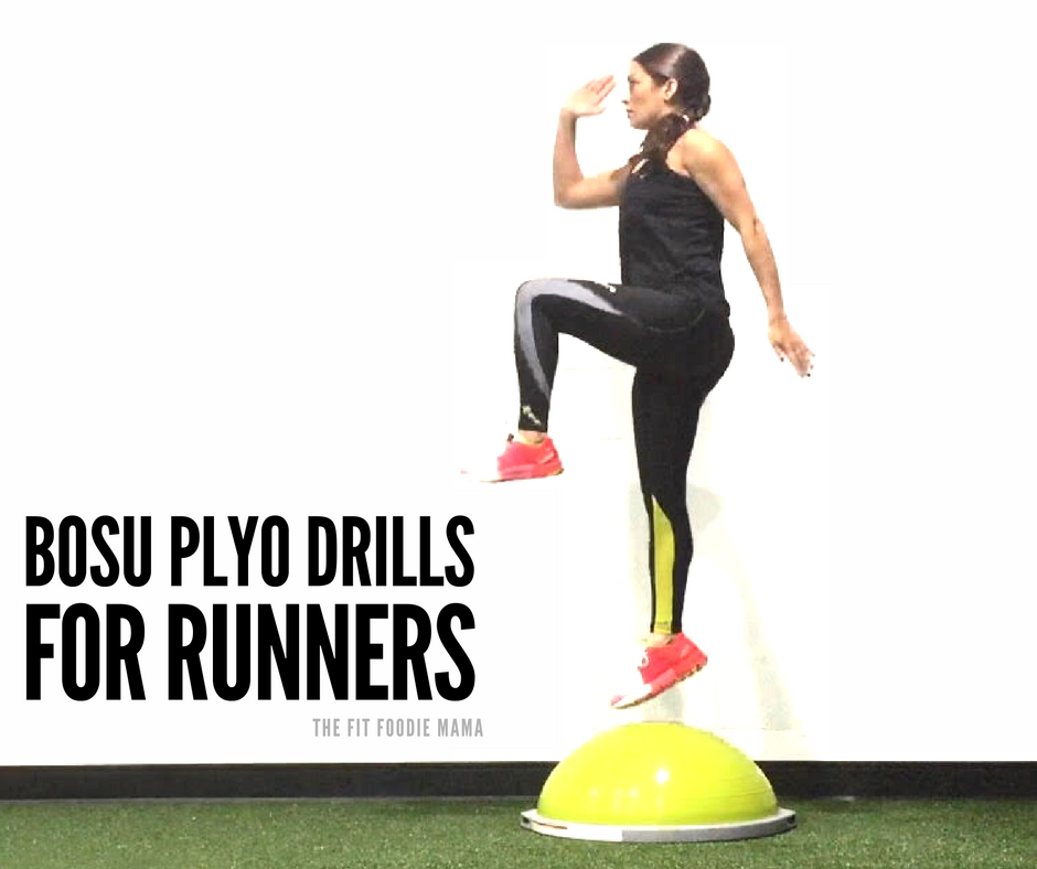 BOSU Plyo Drills to Improve Running Speed & Form