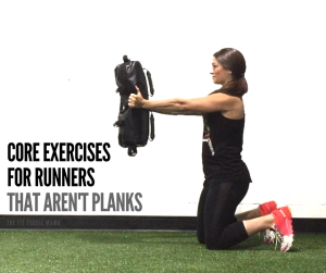Core exercises for runners that aren't planks