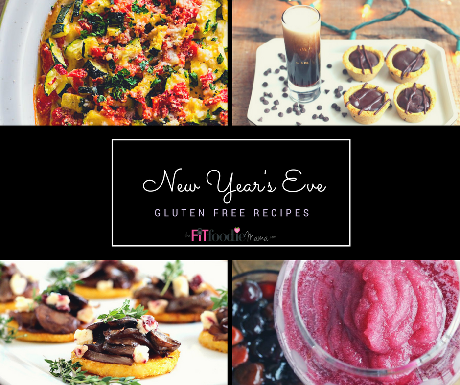 Easy Gluten Free New Year's Eve Recipes