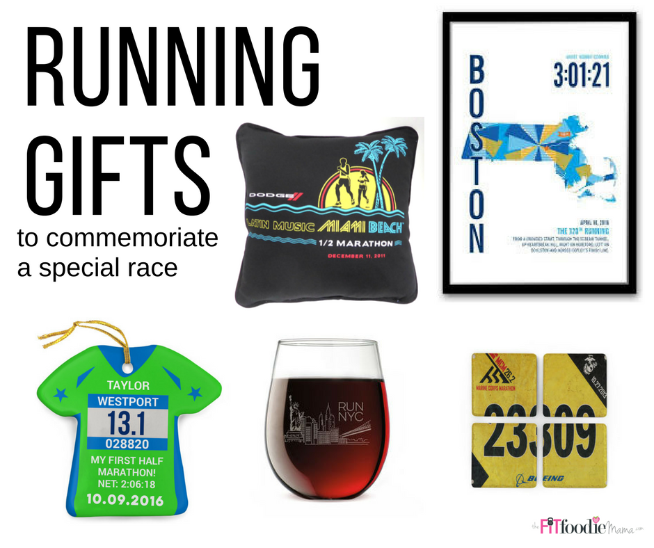 Running Gifts That Commemorate A Special Race