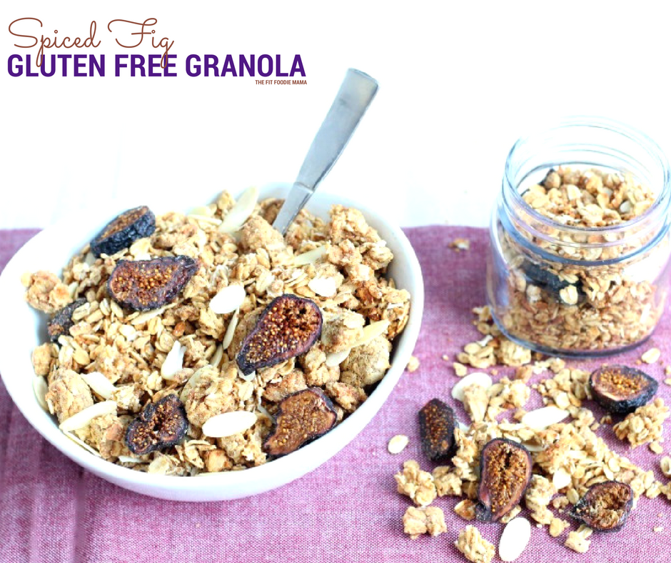 Spiced Fig Gluten Free Granola