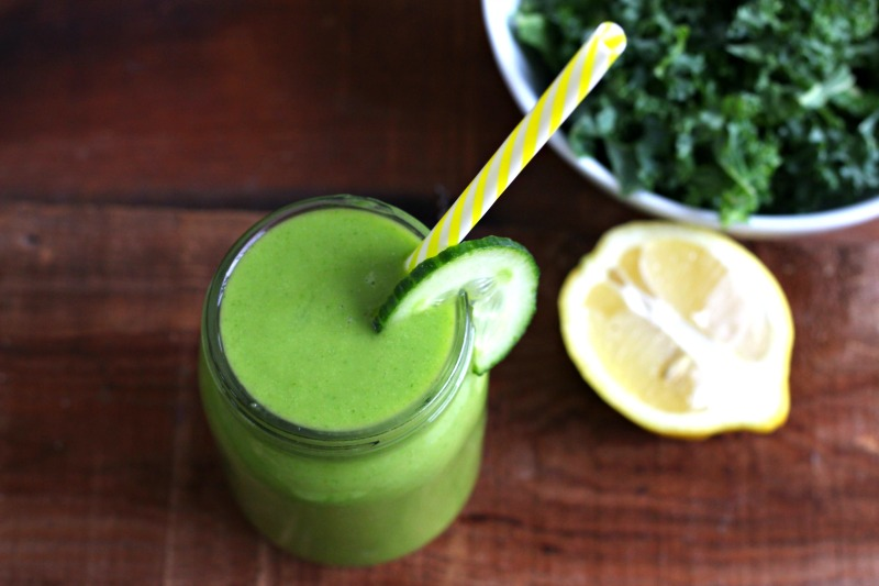 low histamine refreshing and rehydrating Rise and Shine Green Smoothie ...