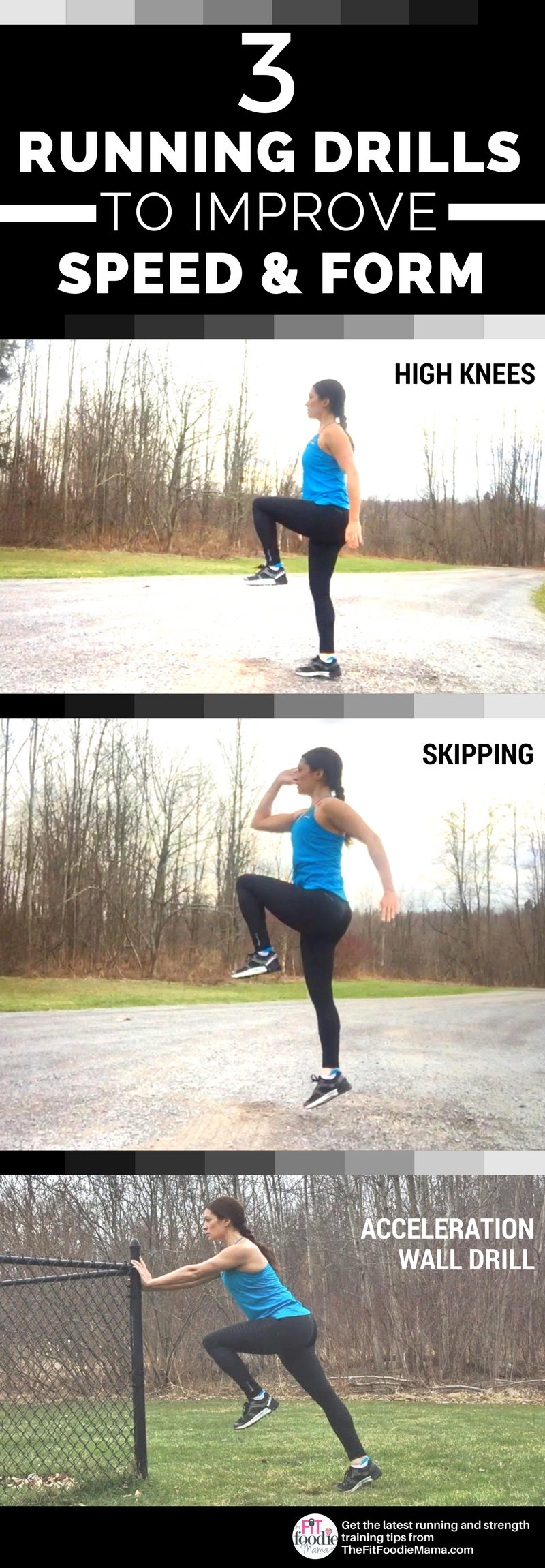 3 Running Drills to Help Improve Both Form and Speed