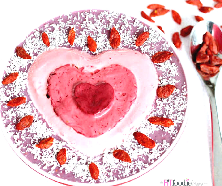 Beeting Heart Smoothie Bowl {Dairy Free}