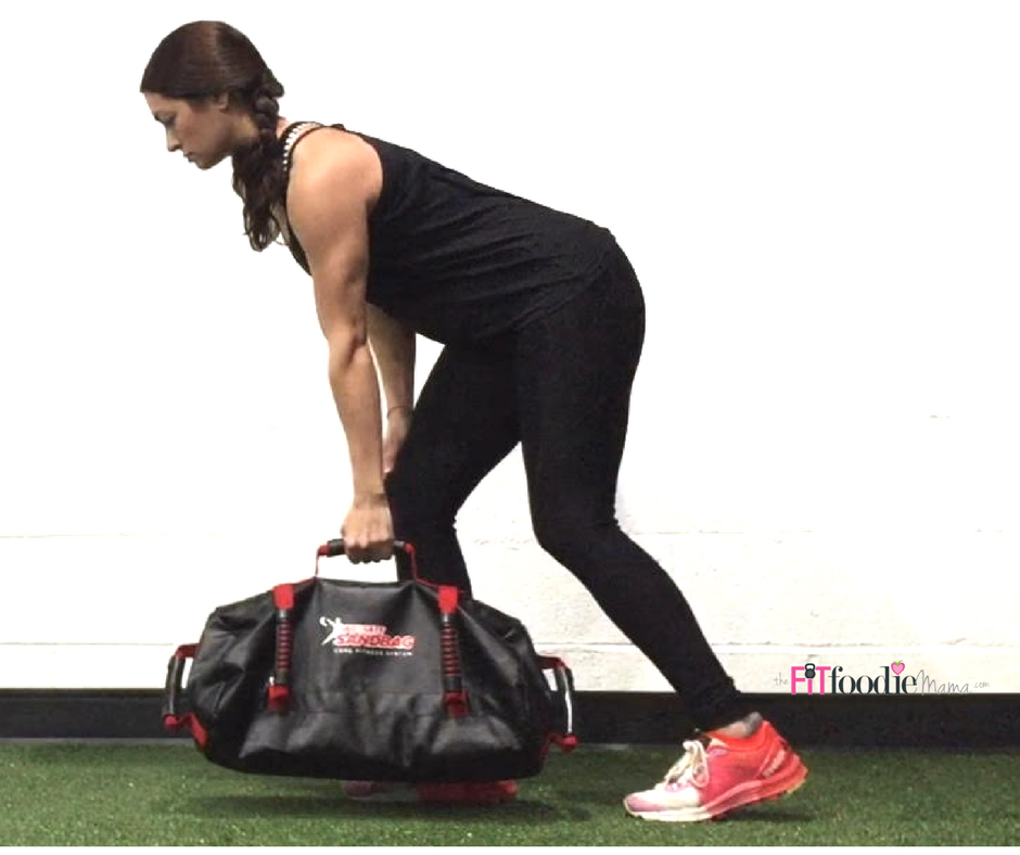 Ultimate Sandbag Upper Body Workout for Runners