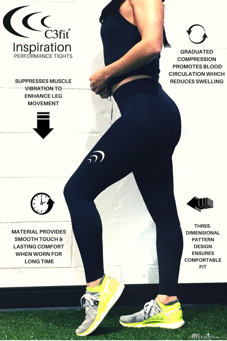 C3fit Inspiration Performance Tights