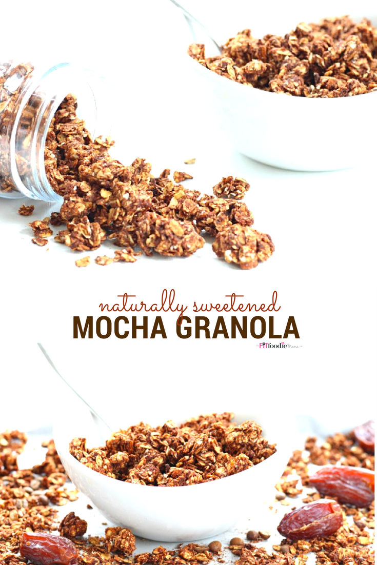 Naturally Sweetened Mocha Granola