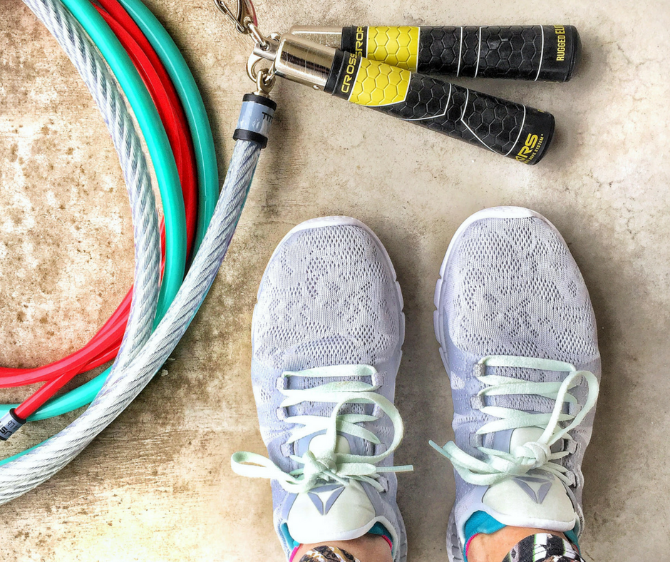 Crossrope Endurance and Power Building Jump Rope Workout