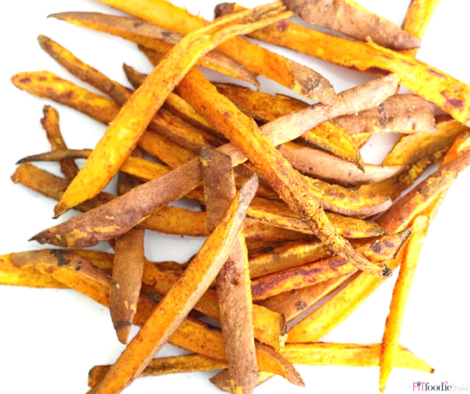 Sweet Potato Recovery Fries {Paleo}