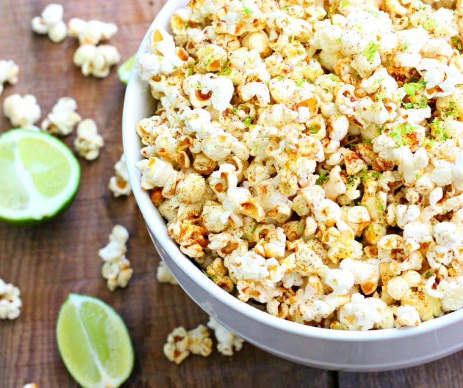 Honey Lime Chili Popcorn Recipe {Dairy Free, Gluten Free}