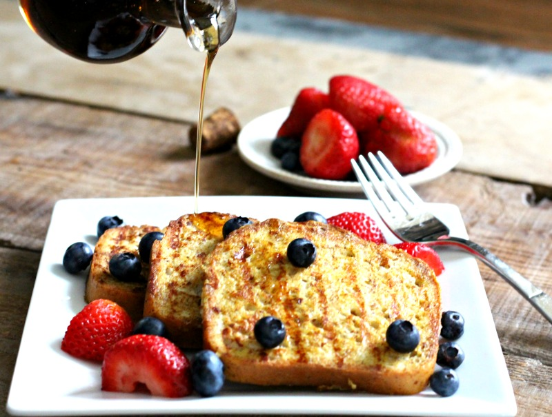 french toast drizzle