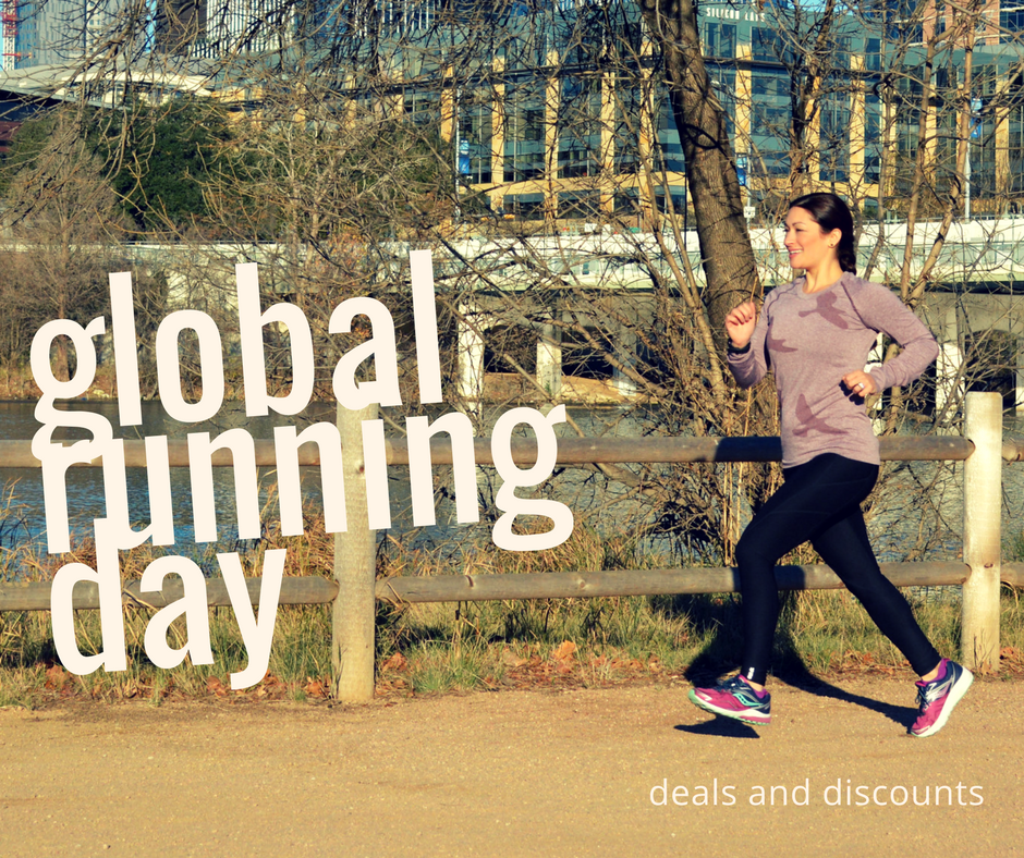 Global Running Day: Deals & Discounts