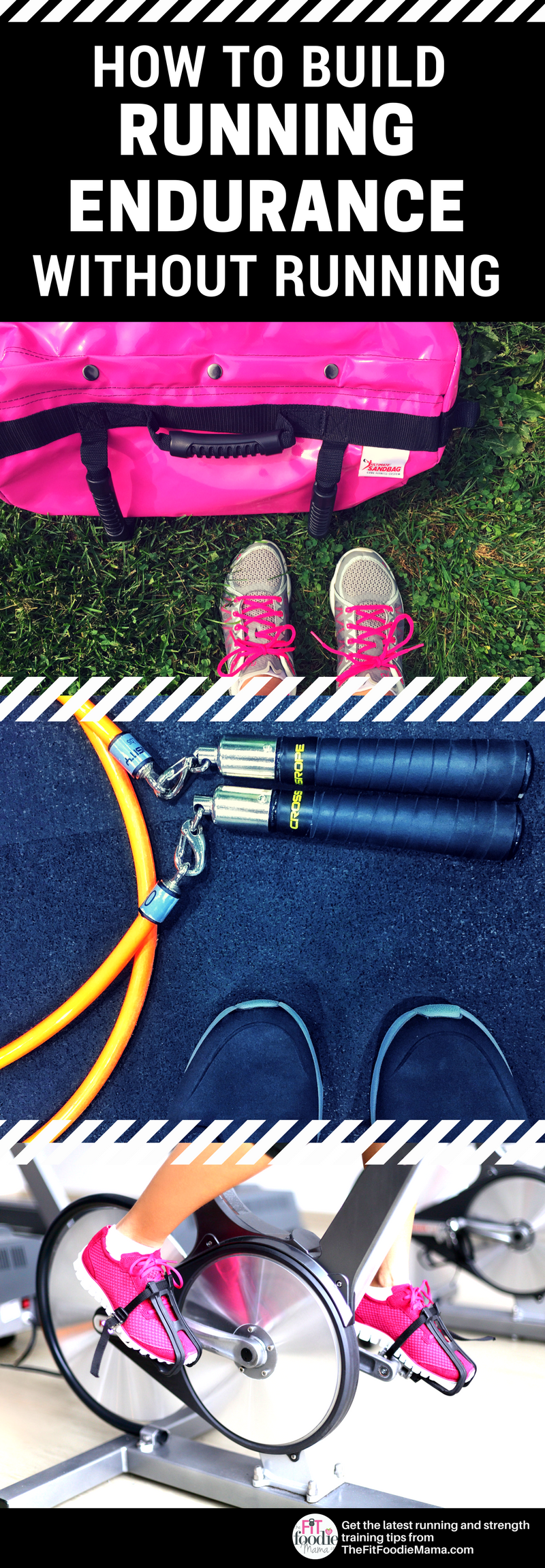 Need a running break? Here's how to maintain and build your running endurance without actually running.