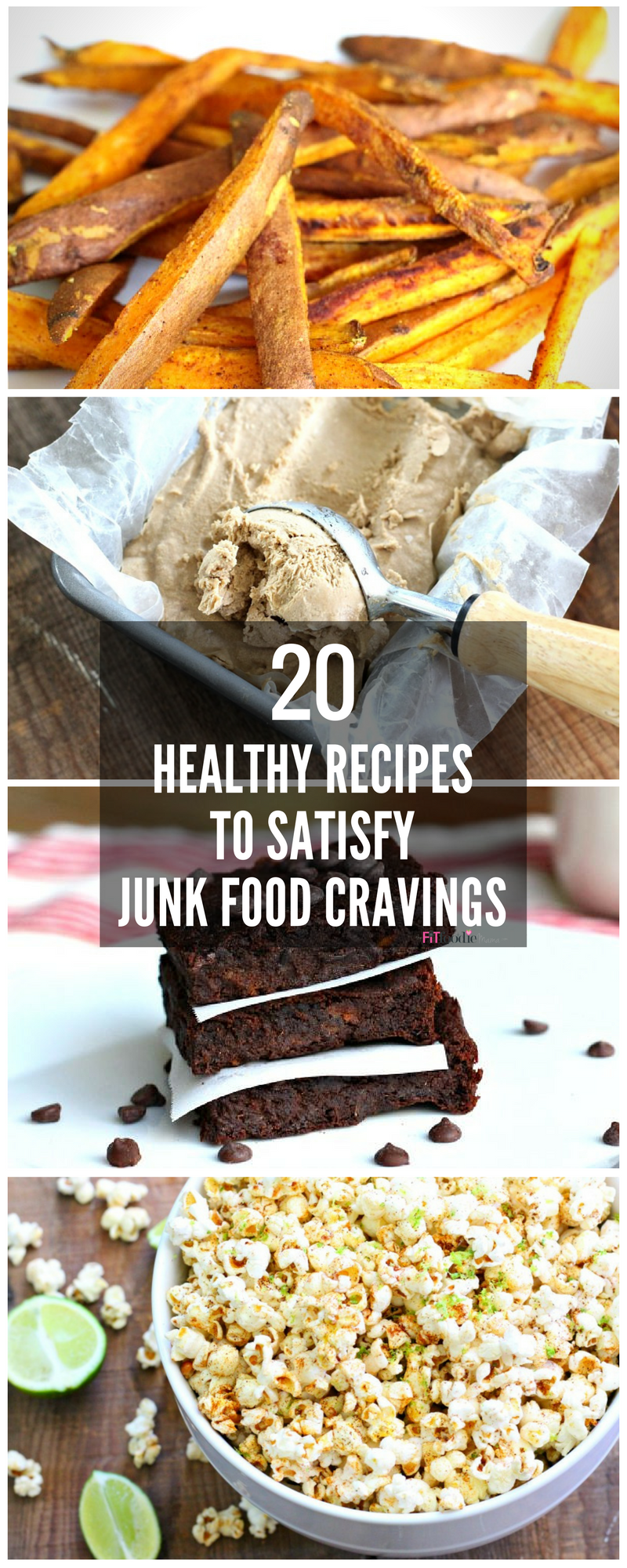 Healthy recipes to satisfy junk food cravings