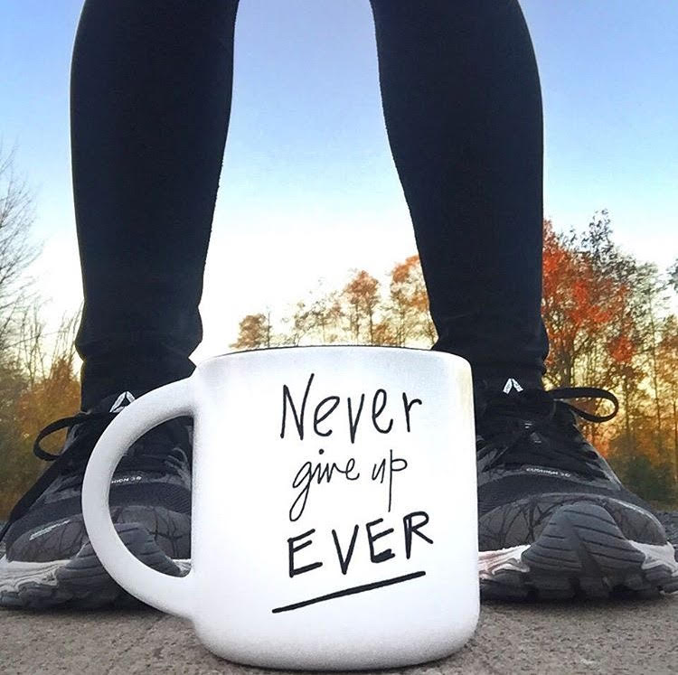 Never Give up Ever Mug