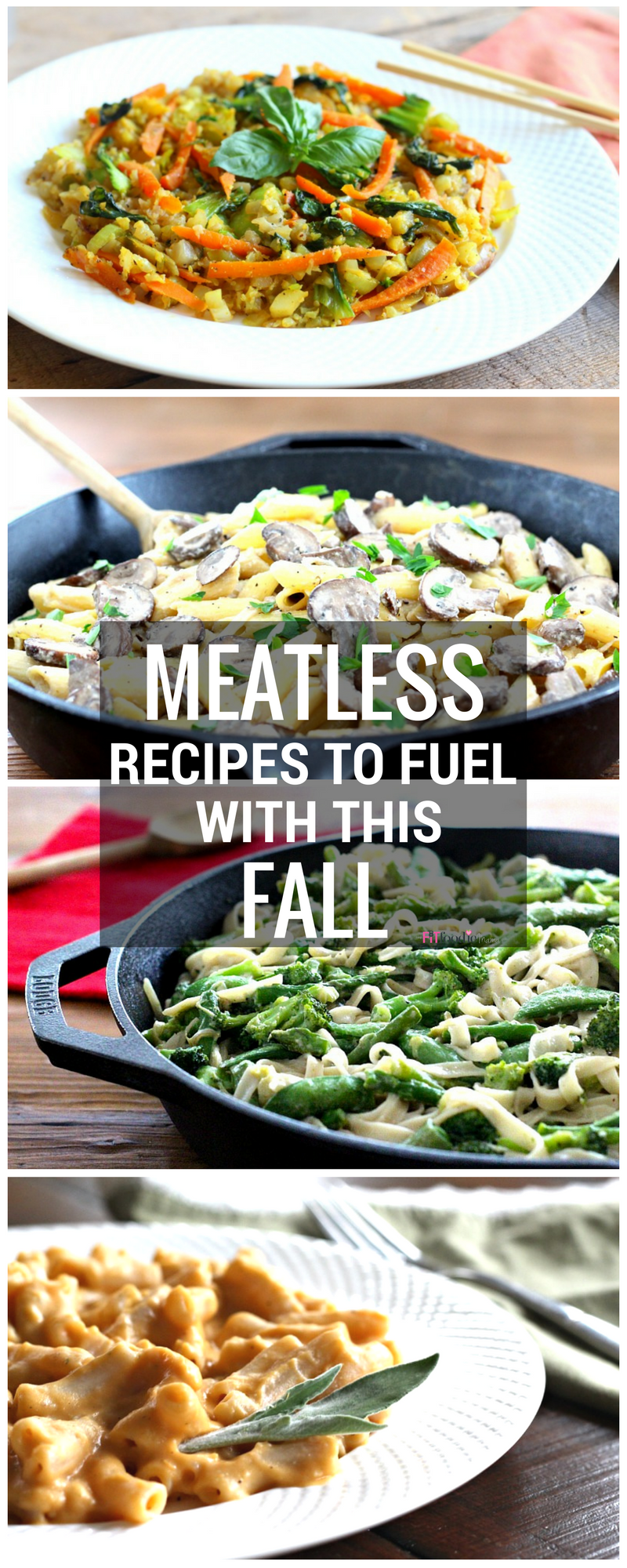 Meatless and Gluten Free Dinner and Lunch Recipes to Fuel with this Fall